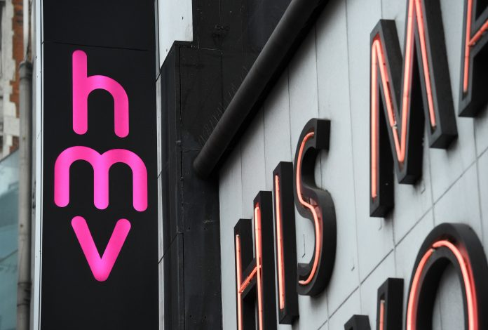 HMV says 5 stores at risk of shutting down will now stay open