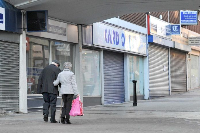 Retailers dominate in soaring number of businesses under stress