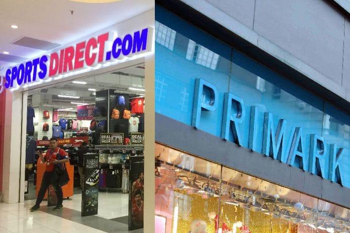 Sports Direct Primark