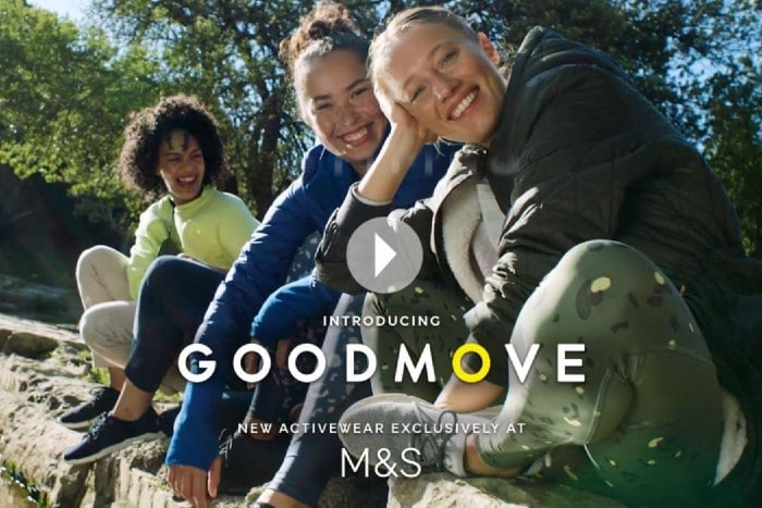 M&S marks and spencer athleisure Goodmove Emma Salmon