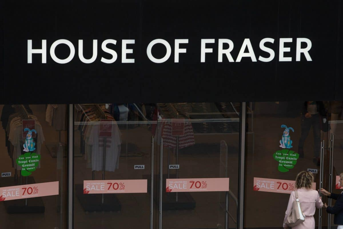 1cdf1bd08d35ac 100 jobs secured as House of Fraser's Hull branch saved from closure