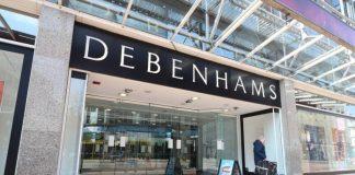 Debenhams business rates
