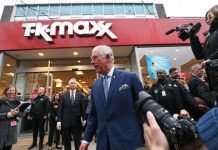"Prince Charles visited TK Maxx for the first time this week and hailed the budget retailer ""amazing"". He went to meet young people who participated in the company's Get into Retail programme with The Prince's Trust."