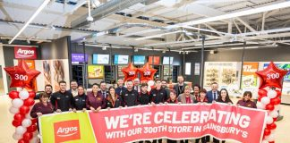 Sainsbury's Argos concession partnership expansion James Brown