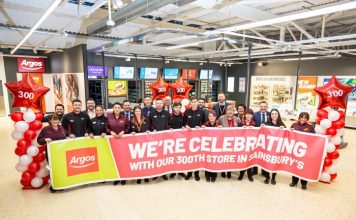 Sainsbury's Argos concession partnership expansion James Brown