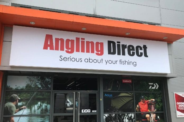 Angling Direct Andy Torrance CEO Darren Bailey