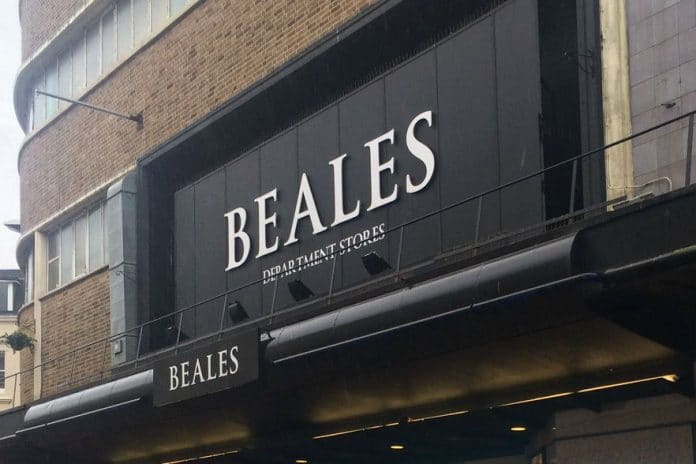 Beales store closures administration KPMG