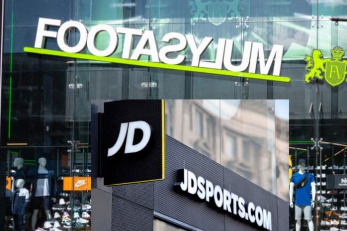 CMA says JD Sports/Footasylum merger may leave shoppers worse off
