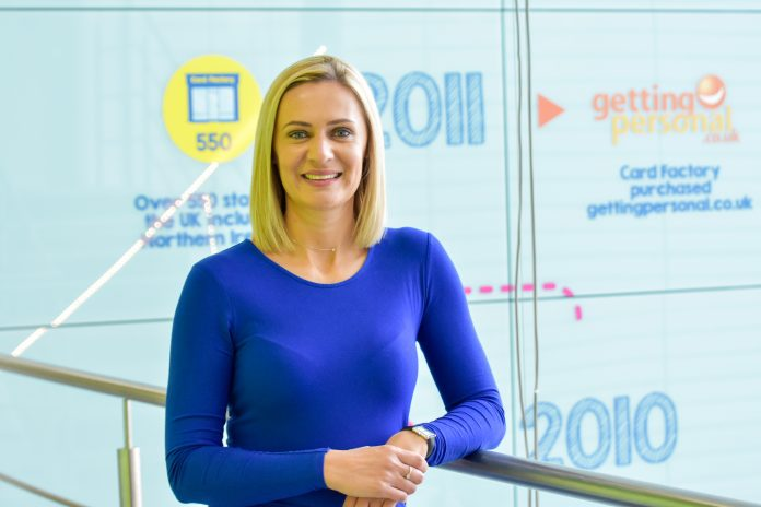Card Factory appoints Jennifer Lawrence as new HR boss