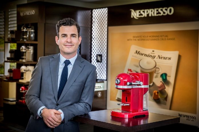 Nespresso UK boss Guillaume Chesneau sustainability customer experience climate change