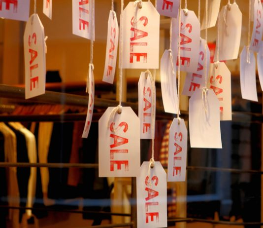 Shop prices drop further amid weak consumer demand BRC Nielsen Shop Price Index Helen Dickinson