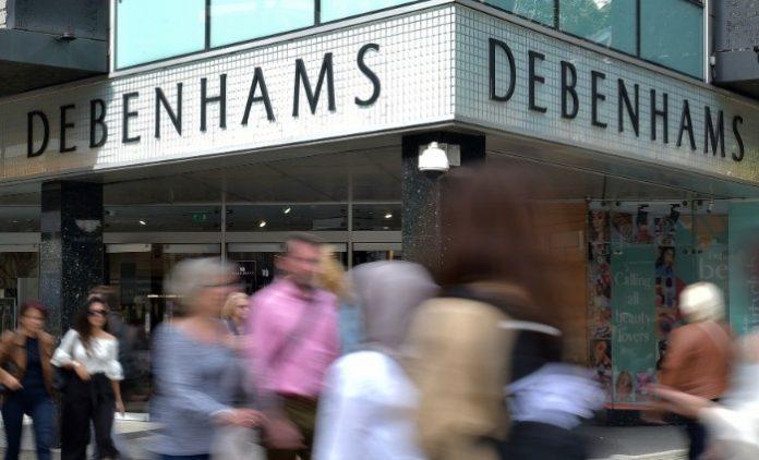 Debenhams copyright Daky