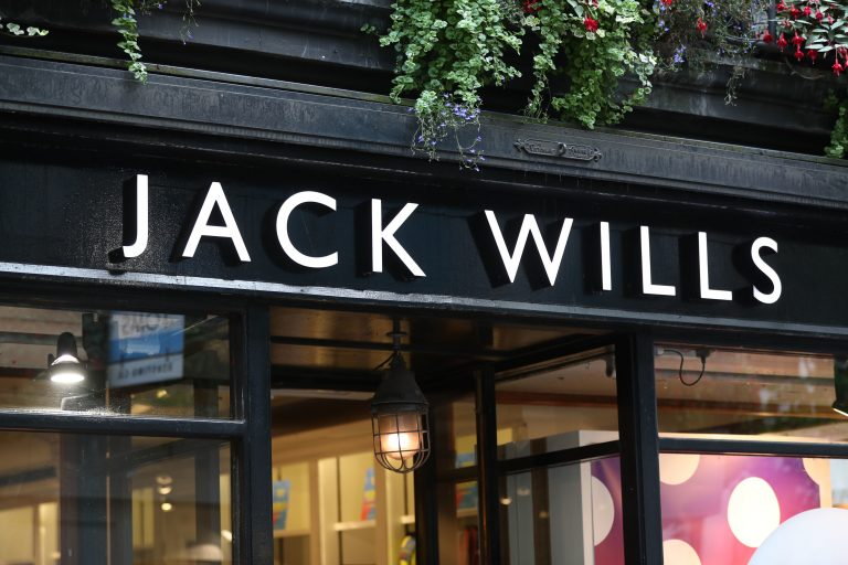 Jack Wills store closures Frasers Group
