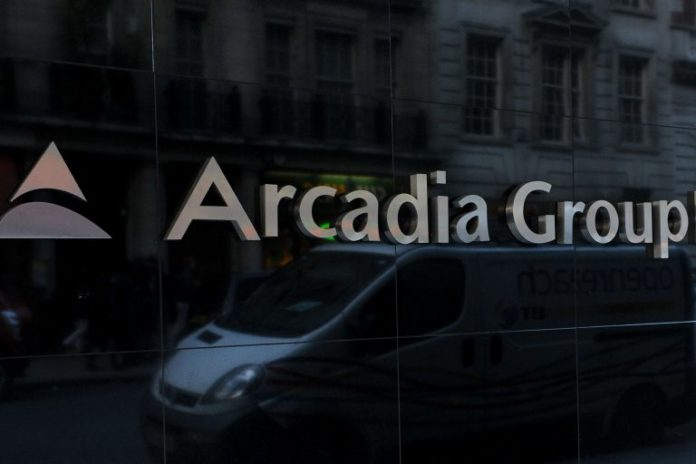 Arcadia sir philip green topshop topman