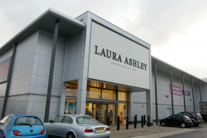 2700 jobs at risk as Laura Ashley falls into administration