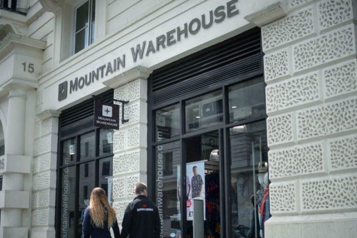 Mountain Warehouse Mark Neale covid-19 job cuts