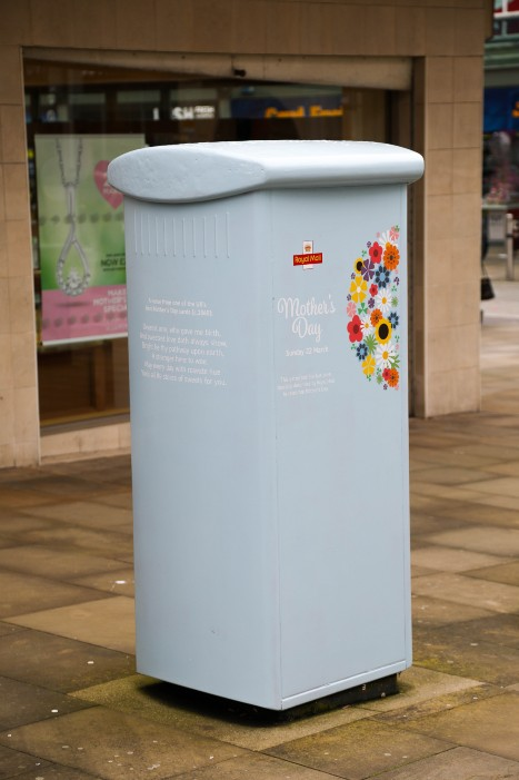 "Retail Gazette Loves: The Royal Mail's ""special"" Mothers Day postbox"