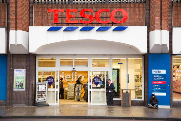 Tesco like-for-like sales rise 8% for Q1
