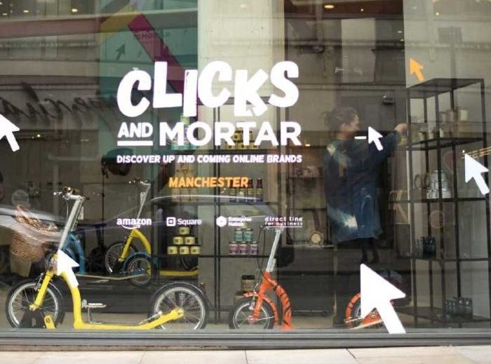 Pop-up retail pop-ups boxpark primark experiential retail Amazon clicks and mortar