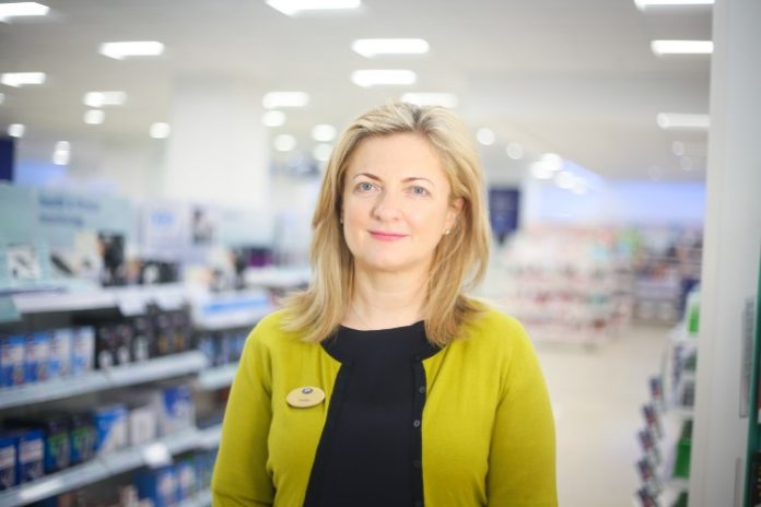 Boots Helen Normoyle marketing director beauty halls