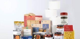 M&S food boxes covid-19 coronavirus