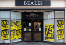 Beales' suppliers, employees & landlords owed £17.6m
