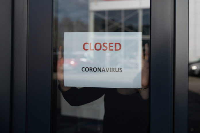 Coronavirus covid-19 panic buying pandemic online shopping store closures stockpiling rationing
