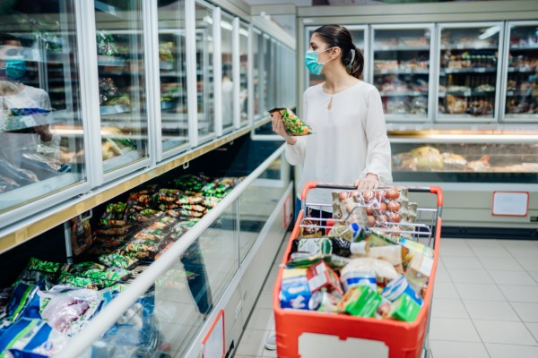 Data has revealed that grocery sales at UK supermarkets during the week ending 14th March increased by over 22 per cent compared to the same period in 2019.The significant rise in sales is attributed to increased stockpiling, amid fears around the ongoing coronavirus pandemic.