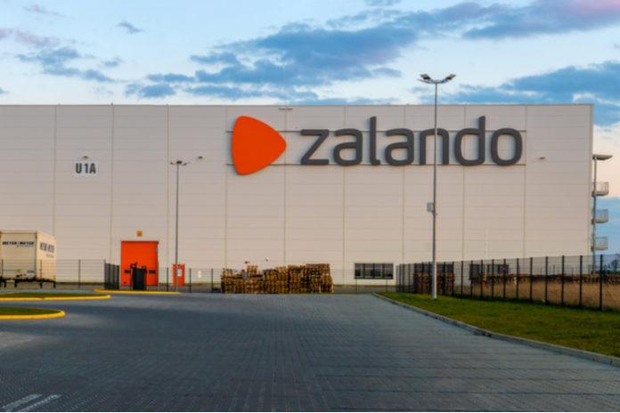 Zalando covid-19 warehouse