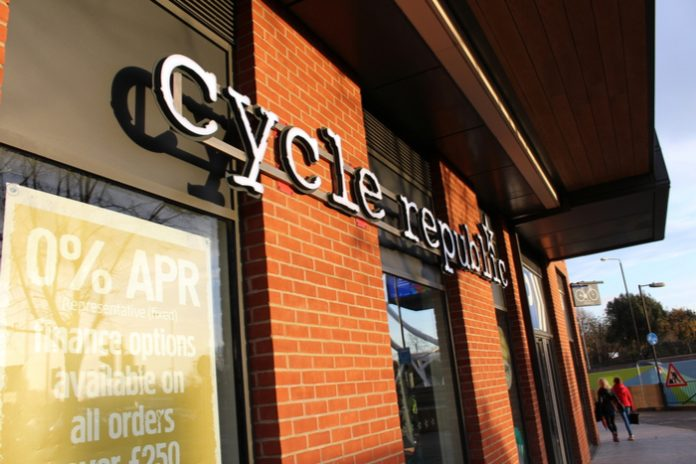 226 jobs on the line as Halfords shut down Cycle Republic chain