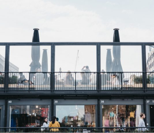 Pop-up retail pop-ups boxpark primark experiential retail Amazon clicks and mortar