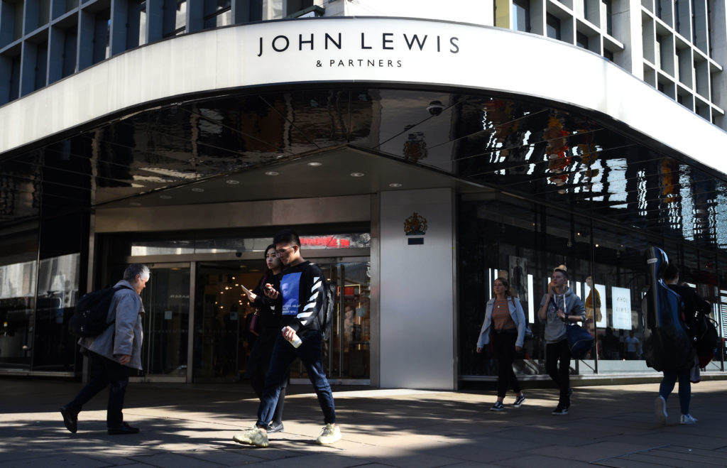 John Lewis to deliver care packages to UK's busiest hospitals