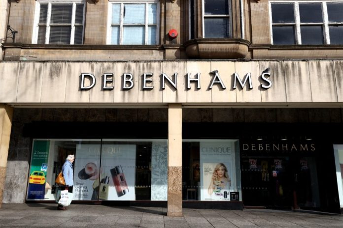 Debenhams files notice of intent to appoint administrators