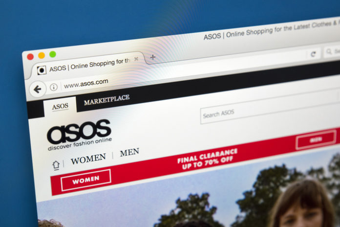 Asos raises £247m in share placing as sales drop by 25%