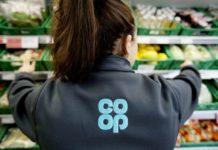 Co-op Steve Murrells donation covid-19 pay cut
