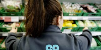 Co-op Steve Murrells donation covid-19 pay cut