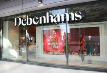 Debenhams store closures administration Mark Gifford