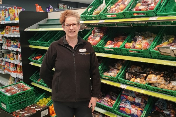 Why Hilary Allen volunteered at her local Co-op during Covid-19 pandemic