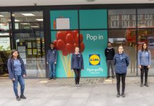 Lidl opens its most central London store yet on Tottenham Court Road