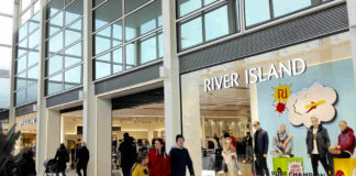 River Island the latest to re-open online store