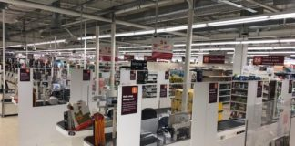 Sainsbury's rolls out new safety screens between checkouts