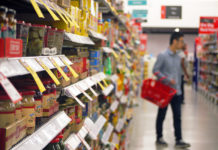 Shop prices fall in March but fears coronavirus could push them up