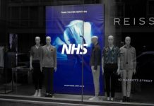 Reiss has taken steps to utilise their supply chain, stores and partners to help support the production and distribution of PPE by purchasing masks and fabric to create much-needed scrubs