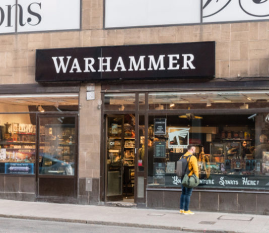 Games Workshop covid-19 reopening