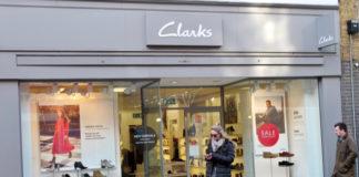 Clarks store closures covid-19 Giorgio Presca pandemic