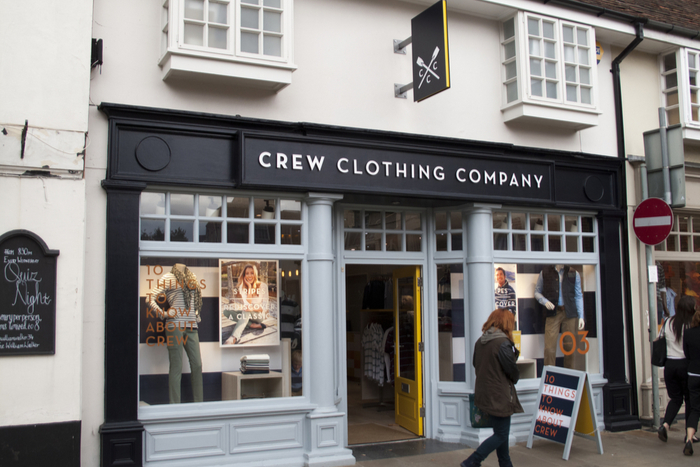 Crew Clothing David Butler CEO