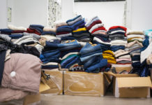 Fast fashion stock warehouse covid-19