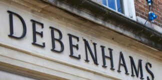 Debenhams store closure bullring administration