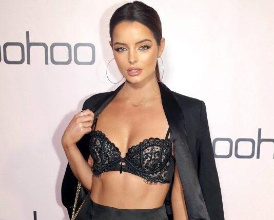 Love Island Maura Higgins Fast Fashion Reality TV Covid-19 ISawItFirst Boohoo Missguided Superdrug