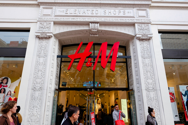 On Monday H&M Group reported that net sales decreased by 50 per cent year on year to £2.45 billion, a smaller drop than expected as coronavirus lockdowns start to ease and stores reopen.